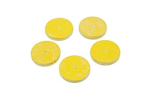 Proops 5x Gummi Polieren Discs Hobby Rotary Rad Mop feines Schleifmittel Mini Drill (X8102). Versandkostenfrei innerhalb UK
