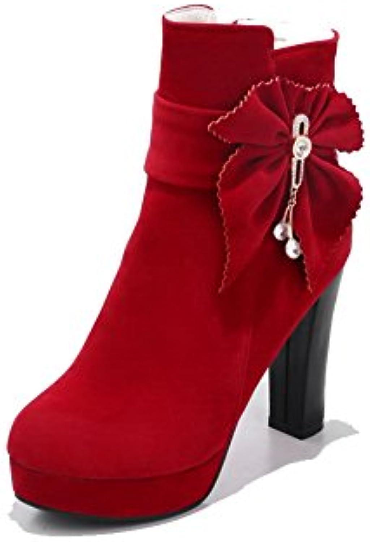 AdeeSu con Plateau Donna Rosso Rosso Rosso (rosso), 35.5 EU, SXC02618 | Eccellente  Qualità  886b0a