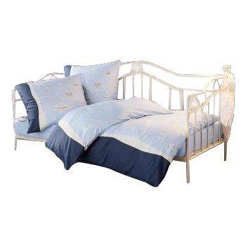 moebel direkt online Day-Bed / Einzelbett / Metallbett cremeweiß