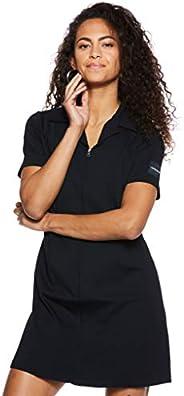 Calvin Klein Women's 8719113657-Black Calvin Klein Jeans Short Sleeve Milano Diner Dress for Women - CK B