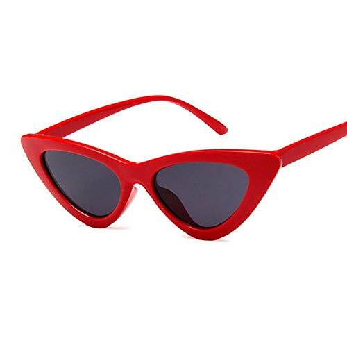 Yuanz Frauen Sonnenbrillen Cat Eye Brillen Retro Triangle Sunglass Female Eyewear Uv400 Sport Outdoor Damen Sonnenbrillen,Q.