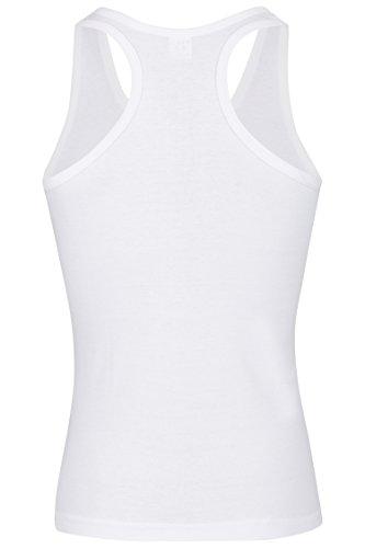 4er Pack Palleon Herren Unterhemden bis Gr. 7XL Weiß
