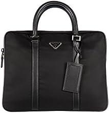 Prada bolso de trabajo maletín hombre en Nylon nuevo negro