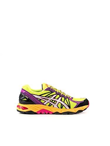 Asics-Zapatillas de running de matière synthétique pour Femme Multicolore Multicolore - GIALLO/VIOLA