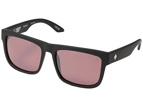 Spy Optic Discord Polarisierte Sonnenbrille, Schwarz - Happy Rose Polar mit hellsilbernem Spectra Mirror