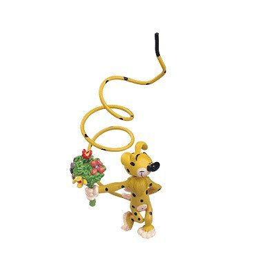 Plastoy SAS PLA65032 - Sammelfiguren, Figur Marsupilami mit Blumenstrauß