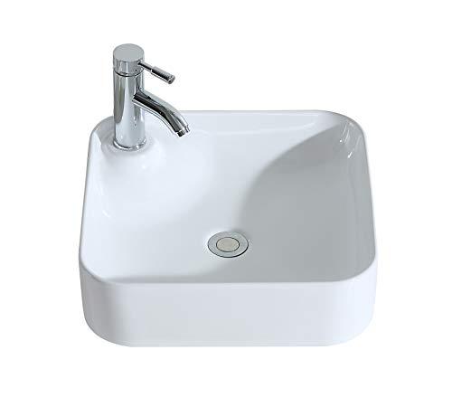 Eridanus, Vasque à Poser Lavabo Lave-Mains Évier-Rectangulaire/Oval