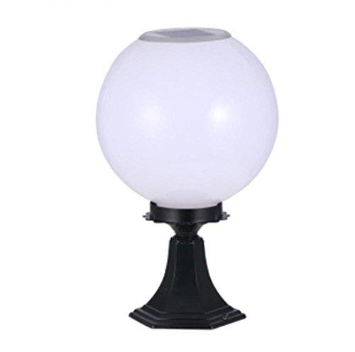Pvc-Solarwandlampe Im Freien Wasserdichte Gartenlichterhaus Led-Außenstraßenwandlampe (69 * 52 * 38Cm)