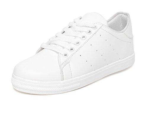 VENDOZ Women White Casual Shoes