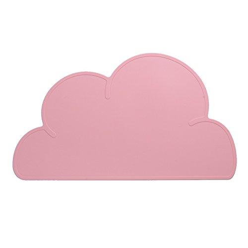 Tappetino in silicone a forma di nuvola per ciotole di cibo e acqua per animali