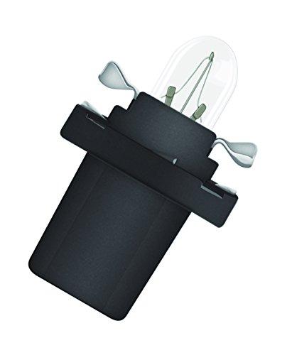 Preisvergleich Produktbild OSRAM ORIGINAL 12V 1,2W Halogenlampe mit Kunststoffsockel, B8.5d, Anwendung als Armaturenbrett- und Instrumentenbeleuchtung, 2721MF, Faltschachtel (10 Stück)