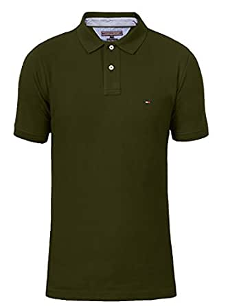 tommy hilfiger 40 39 s two ply cotton herren poloshirt gr e s farbe. Black Bedroom Furniture Sets. Home Design Ideas