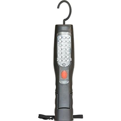 Vision LED-Taschenlampe, wiederaufladbar, 180 Grad, magnetisch, zusammenklappbar