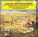 "Copland : Appalachian Spring / Schuman : American Festival Ouverture / Barber : Adagio / Bernstein : Ouverture de ""Candide"""