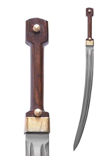Russischer Kindschal mit Scheide Kurzschwert Mittelalter Säbel Wikinger Ritter Verkauf ab 18 Jahren