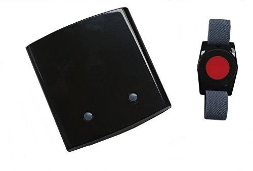 Senioren-Notruf mit GSM-Modul, zwei verschiedene Kanäle mit unterschiedlicher Sprachnachricht, hohe Reichweite