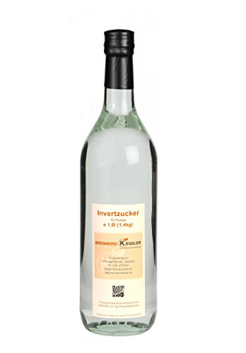 Invertzucker - Flüssigzucker 1 Liter (1,4kg) 72,7%mas.