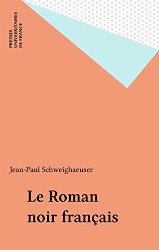 Le Roman noir français