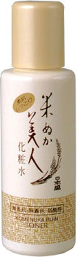 Komenuka Bijin All-Natural Skin Lotion (Toner/After Shave) with Rice Bran - 120ml (japan import)