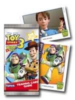 Topps - Présentoir de 50 Pochettes de Cartes Toy Story 3