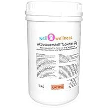 OXÍGENO ACTIVO Pastillas 20g / Tabletas De Oxígeno/O ² -pastillas 20G libre de