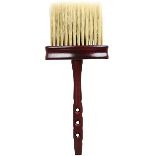 TRIXES Cepillo Ergonómico para el Cuello Peluquerías, Barberías de Lujo: Elimina los Recortes de vello de la Cabeza y el Rostro