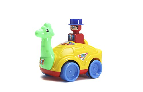 Khanna Push N Go Giraffe, Multi Color