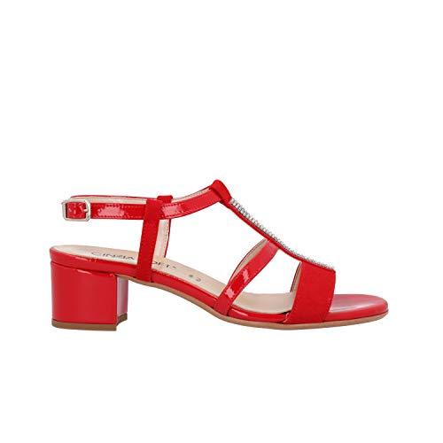 CINZIA SOFT Sandali Rosso Scarpe Donna IL68555-CV 37