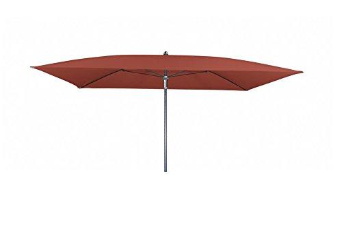 Absolut wasserdichter Gartenschirm 'Waterproof 230x190 ohne Volant', von Doppler mit UV-Schutz 50...