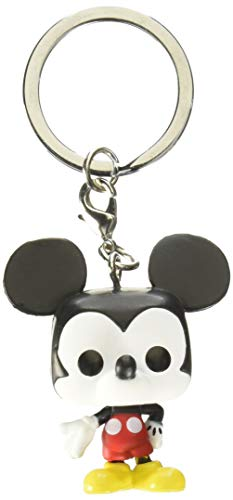Funko 32568 Portachiavi Disney 90th Anniversary Mickey Mouse S1 Pop Keychain, Multi Preisvergleich