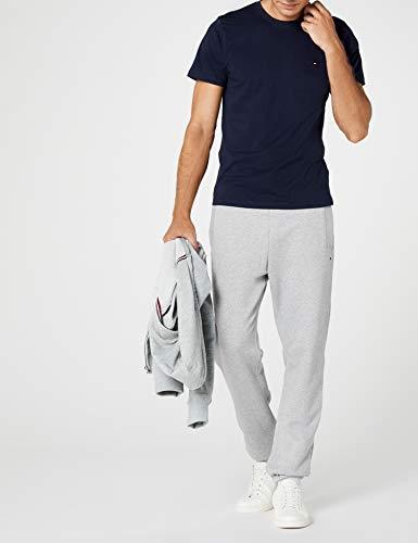 Hilfiger Denim Herren T-Shirt Original cn knit s/s, Gr. Large, Blau - 2