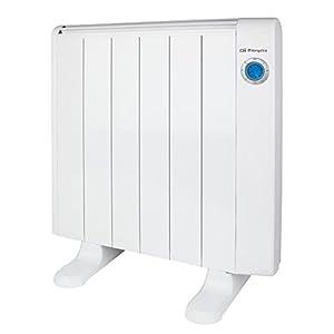 Orbegozo 16189 emisor térmico sin Aceite 6 Elementos 1000W, 1000 W, Blanco