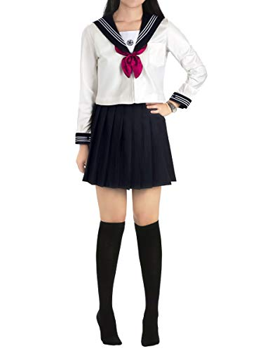 Girl School Kostüm Cute - CoolChange Cosplay Schuluniform im Kansai Style, Größe: L