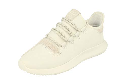 Adidas originals tubular shadow uomos running sneakers (uk 11.5 us 12 eu 46 2/3, crystal white bb8821)