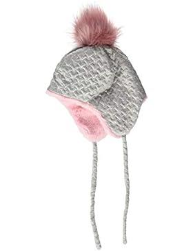Sterntaler Inka-Mütze für Mädchen mit Bommel, Ohrenklappen und Bindebändern