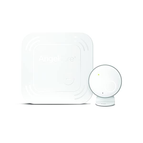 Angelcare AC017 Baby Movement Monitor Angelcare Wireless under-the-mattress movement sensor pad Nursey unit with movement indicator Movement alarm will sound if no movement has been detected for 20 seconds. 1