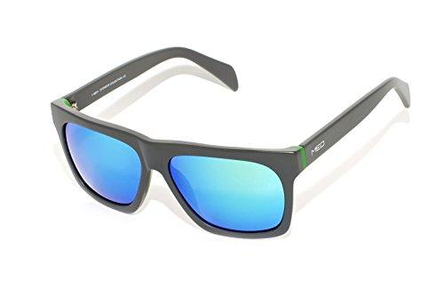 rainbow safety Herren Sonnenbrille MED Limitierte Edition UV400 Schutz Verspiegelt O1005-GY