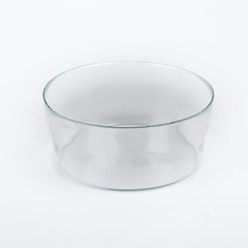 Coupe en verre SINA, transparent, 8 cm, Ø 19 cm - Coupelle apéritif / Vide-poche - INNA Glas