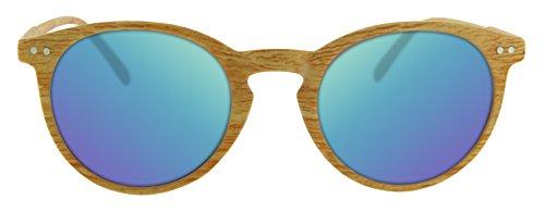 Gafas de sol efecto madera- certificado CE UV400 y protección CAT3 - Calgary