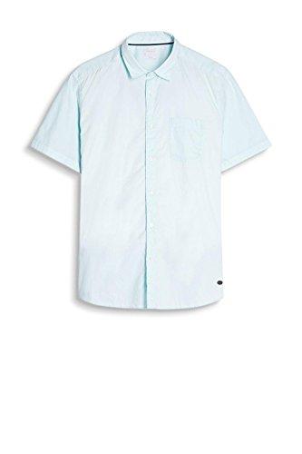 ESPRIT 067ee2f005, Camicia Uomo Blu (Light Turquoise 480)