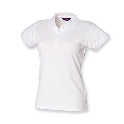 Henbury - Polo -  - Polo - Col polo - Manches courtes Femme Blanc