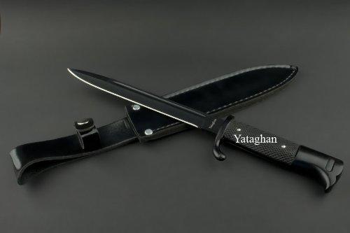Ed Mahony Bayonet, Bajonet, Yataghan Jagdmesser, deutsches Seitengewehr, Saufänger