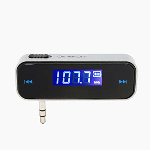3g Ipod Car Charger (XZYP 3,5mm In-car FM Transmitter Radio Adapter, Car Charger Wireless Radio Adapter für iPod iPhone 3G 4S)