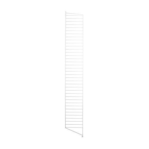 Unbekannt String System Bodenleiter 200x30cm, weiß lackiert 200x30cm