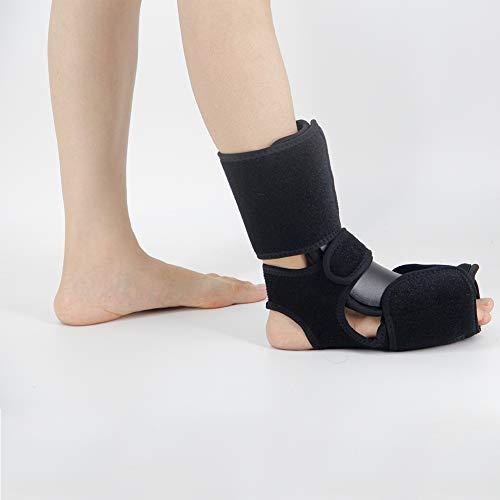 MOXIN Medizinisch Knöchel Gehhilfe Unterstützung für die Entlastung von Schmerz und von Wiederherstellungs verstauchung Fracture, Bändern und Sehnen,Black,Large(40to44code)