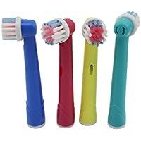 Cabezales EB-17de repuesto de cepillos de dientes para niños pequeños, totalmente compatibles con Braun / Oral-B (EB-17A)