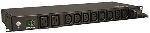 Tripp Lite PDUMH20HV PDU Metered 200V - 240V 20A 8 C13; 2 C19 C20 Horizontal 1URM - Pdu-8 Power Distribution Unit
