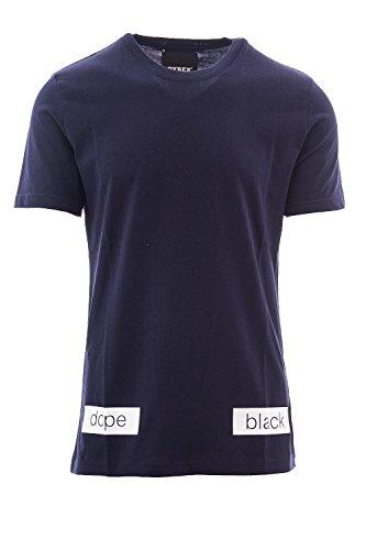 Unisex short sleeve t-shirt jersey 33509 Blue