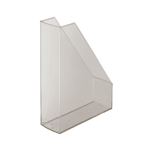 Preisvergleich Produktbild Herlitz 10648467 Stehsammler A4-C4 hochglanz transluzent, rauchglas Kunststoff