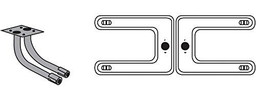 Preisvergleich Produktbild Music City Metals 18202-78202 Edelstahl-Brennereinheit für Gasgrills der Marken Broil King und Sterling - Silberfarben